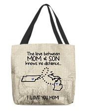 MICHIGAN TENNESSEE THE LOVE MOM AND SON All-over Tote thumbnail