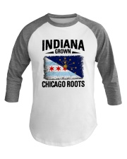 INDIANA GROWN CHICAGO ROOTS Baseball Tee thumbnail