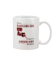 MARYLAND GIRL LIVING IN LOUISIANA WORLD Mug thumbnail