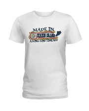 MADE IN STATEN ISLAND A LONG TIME AGO Ladies T-Shirt front