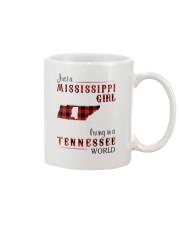 MISSISSIPPI GIRL LIVING IN TENNESSEE WORLD Mug thumbnail