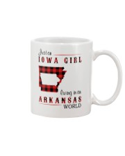 IOWA GIRL LIVING IN ARKANSAS WORLD Mug thumbnail