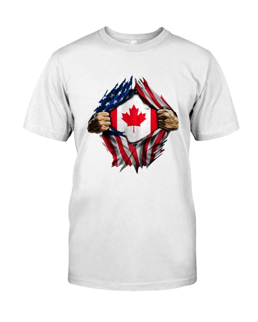 CANADIAN FLAG Classic T-Shirt