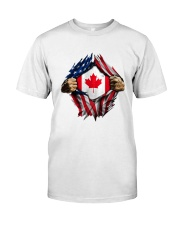 CANADIAN FLAG Classic T-Shirt front