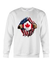 CANADIAN FLAG Crewneck Sweatshirt thumbnail