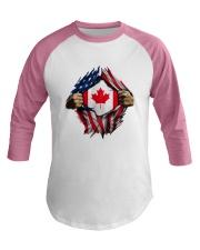 CANADIAN FLAG Baseball Tee thumbnail