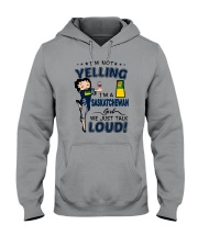 I'M A SASKATCHEWAN GIRL WE JUST TALK LOUD Hooded Sweatshirt thumbnail