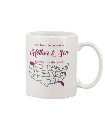 FLORIDA WASHINGTON THE LOVE  MOTHER AND SON