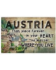 AUSTRIA THAT PLACE FOREVER IN YOUR HEART 17x11 Poster front