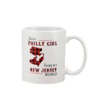 PHILLY GIRL LIVING IN NEW JERSEY WORLD Mug thumbnail