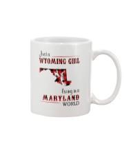 WYOMING GIRL LIVING IN MARYLAND WORLD Mug thumbnail