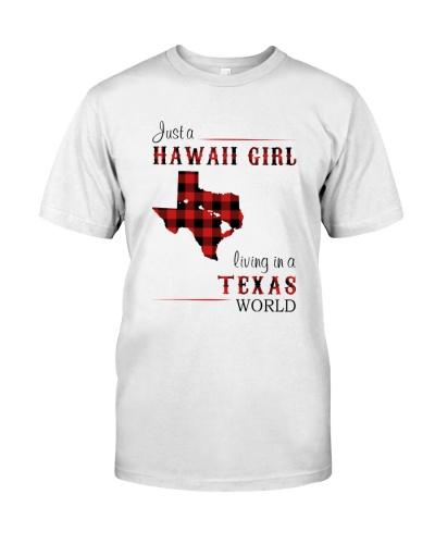 HAWAII GIRL LIVING IN TEXAS WORLD