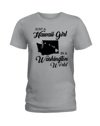 JUST A HAWAII GIRL IN A WASHINGTON WORLD