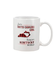 SOUTH CAROLINA GIRL LIVING IN KENTUCKY WORLD Mug thumbnail