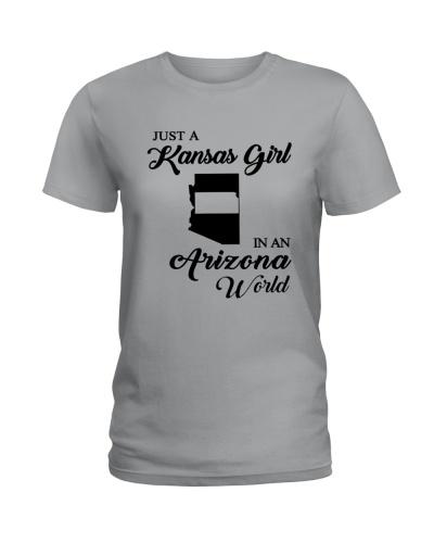 JUST A KANSAS GIRL IN AN ARIZONA WORLD