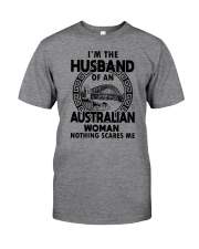I'M THE HUSBAND OF AN AUSTRALIAN WOMAN Classic T-Shirt front