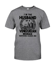 I'M THE HUSBAND OF A VENEZUELAN WOMAN Classic T-Shirt front