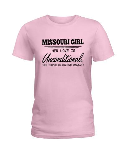 MISSOURI GIRL HER LOVE IS UNCONDITIONAL
