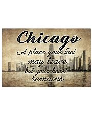 CHICAGO YOUR HEART REMAINS 24x16 Poster front
