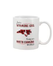 WYOMING GIRL LIVING IN NORTH CAROLINA WORLD Mug thumbnail