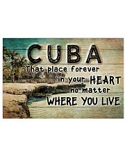 CUBA THAT PLACE FOREVER IN YOUR HEART 24x16 Poster front