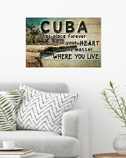 CUBA THAT PLACE FOREVER IN YOUR HEART 24x16 Poster poster-landscape-24x16-lifestyle-01