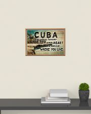 CUBA THAT PLACE FOREVER IN YOUR HEART 24x16 Poster poster-landscape-24x16-lifestyle-09