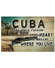 CUBA THAT PLACE FOREVER IN YOUR HEART Horizontal Poster tile