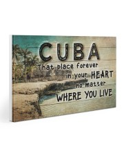CUBA THAT PLACE FOREVER IN YOUR HEART 30x20 Gallery Wrapped Canvas Prints thumbnail