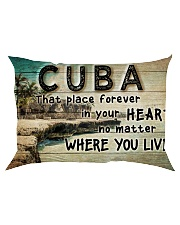 CUBA THAT PLACE FOREVER IN YOUR HEART Rectangular Pillowcase thumbnail