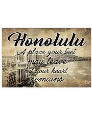 HONOLULU A PLACE YOUR HEART REMAINS 24x16 Poster front