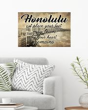 HONOLULU A PLACE YOUR HEART REMAINS 24x16 Poster poster-landscape-24x16-lifestyle-01