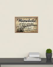 HONOLULU A PLACE YOUR HEART REMAINS 24x16 Poster poster-landscape-24x16-lifestyle-09