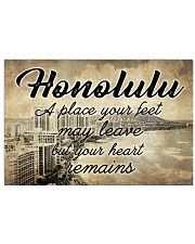 HONOLULU A PLACE YOUR HEART REMAINS Horizontal Poster tile