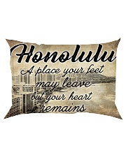HONOLULU A PLACE YOUR HEART REMAINS Rectangular Pillowcase thumbnail
