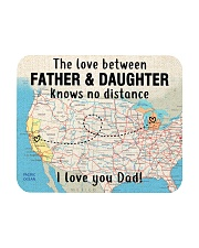 MICHIGAN CALIFORNIA FATHER DAUGHTER I LOVE DAD Mousepad thumbnail