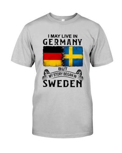LIVE IN GERMANY BEGAN IN SWEDEN