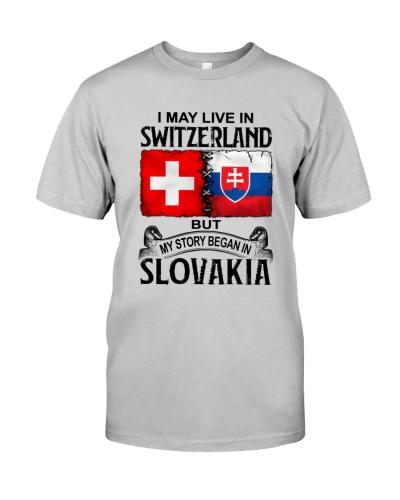 LIVE IN SWITERLAND BEGAN IN SLOVAKIA