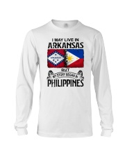 LIVE IN ARKANSAS BEGAN IN PHILIPPINES Long Sleeve Tee thumbnail