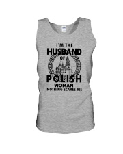 I'M THE HUSBAND OF A POLISH WOMAN Unisex Tank thumbnail