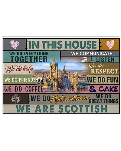 IN THIS HOUSE WE ARE SCOTTISH
