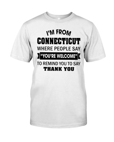 I'M FROM CONNECTICUT