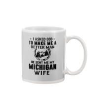 HE SENT ME MY MICHIGAN WIFE Mug thumbnail