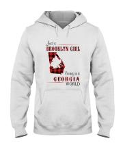 BROOKLYN GIRL LIVING IN GEORGIA WORLD Hooded Sweatshirt thumbnail