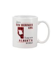 NEW BRUNSWICK GIRL LIVING IN ALBERTA WORLD Mug thumbnail