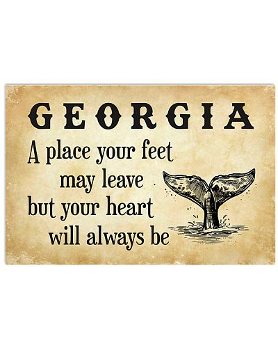 GEORGIA A PLACE YOUR HEART WILL ALWAYS BE