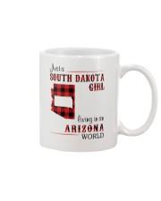 SOUTH DAKOTA GIRL LIVING IN ARIZONA WORLD Mug thumbnail