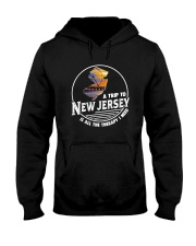 A TRIP TO NEW JERSEY IS ALL THE THERAPY Hooded Sweatshirt thumbnail