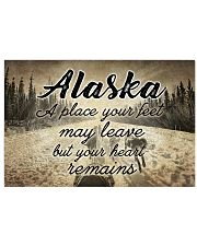 ALASKA PLACE YOUR HEART REMAINS 24x16 Poster front