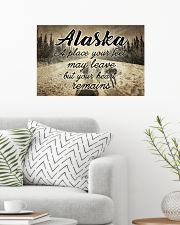 ALASKA PLACE YOUR HEART REMAINS 24x16 Poster poster-landscape-24x16-lifestyle-01
